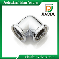 Excellent quality professional Brass Chrome Plated Plumbing Fittings