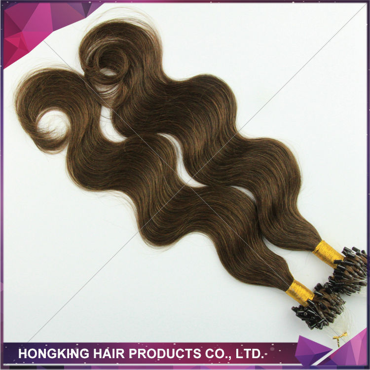 100% cheap remy micro loop hair extensions russian remy hair extensions
