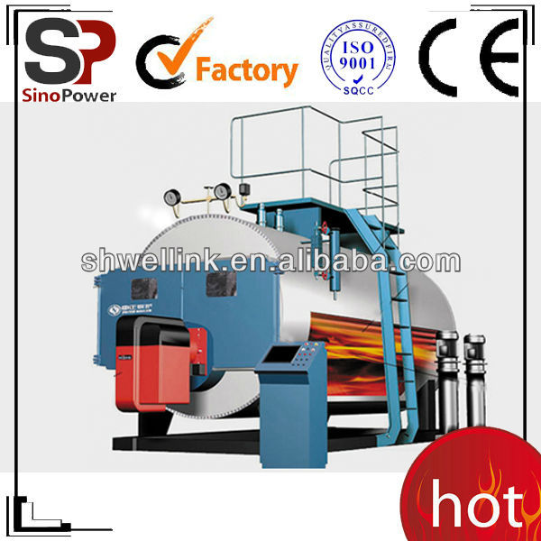 Chinese High efficiency / large heating surface / 3-pass / packgae / fully automatic /electric same as thermax boiler