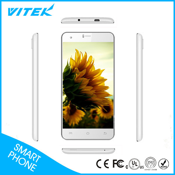 5.5inch Wide screen 4G China White color Mobile Phone