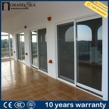 Top quality exterior safety tempered glazing wall cabinet sliding door for house