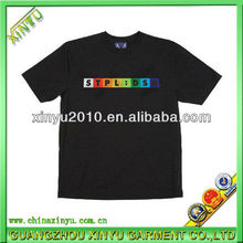 popular kids black girls t shirt wholesale