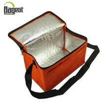 Aluminium foil insulated thermal lunch cooler bag