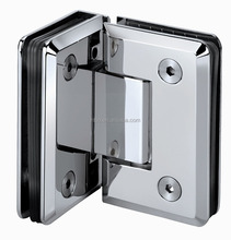 Stainless Steel 80 Degree double side Glass Clamp Shower Door Hinge