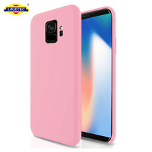 For Samsung Galaxy S9 Case,Liquid Silicone Case Rubber With Soft Microfiber Cloth Lining,Silicone Case