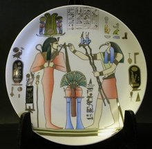 Osiris / Thoth Plate