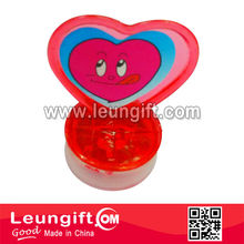 Heart shape mini stamp