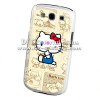 for samsung s3 galaxy i9300 case cute hello kitty design