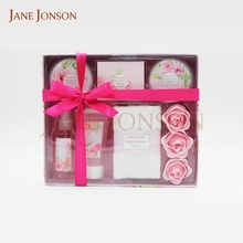 Wholesale body lotion body mist bath gift set for woman