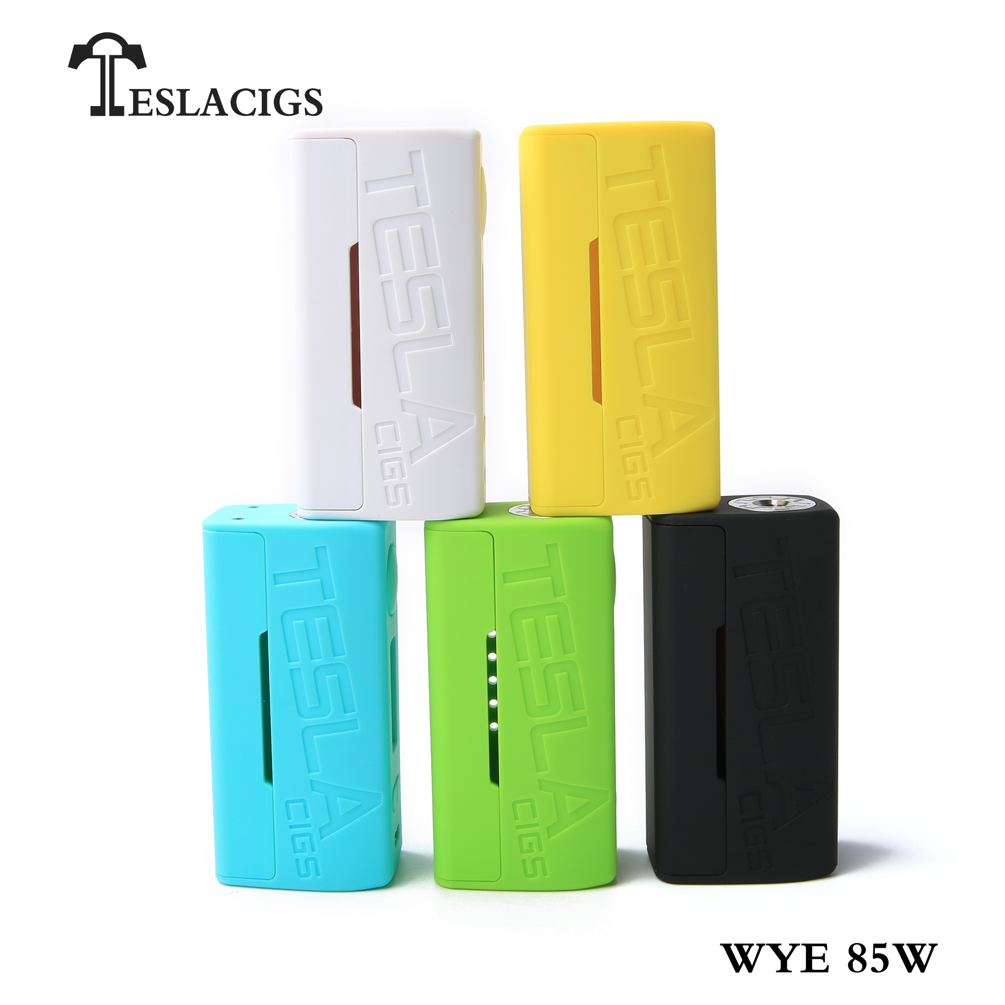 Quit smoking products Tesla WYE 85W mod vape mod eletronic cigarette box mod
