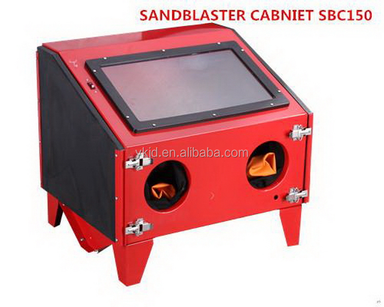 Designer unique sandblaster with dust-free equipment