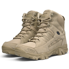 wholesale desert lace up army commando boots