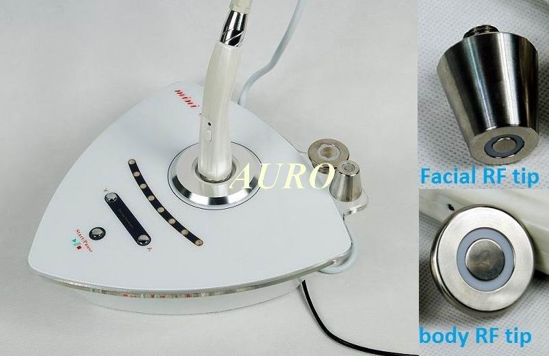 Link: Portable biopolar RF machine for skin rejuvenation wrinkle removal whitening / Radio Frequency Machine