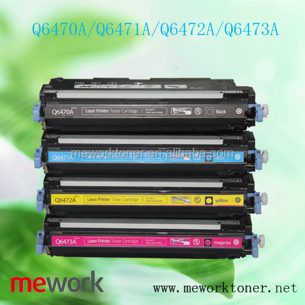 Q6470A/Q6471A/Q6472A/Q6473A for hp toners best color laser printer