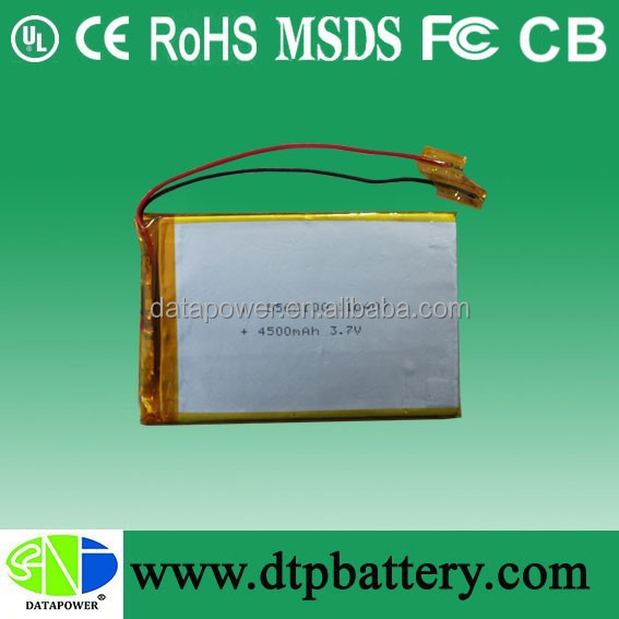 lithium polymer battery pack manufacturers 2000mAh 3.7V 5567100