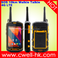 4.5 inch Quad Core IP67 ptt rugged cell phone Runbo Q5 android waterproof mobile phone shockproof dual-sim nfc phone