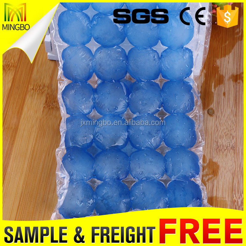 Manufacturer Custom Transparent 100% LDPE Ice Cube Plastic Bag