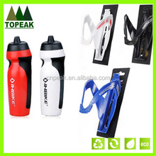 680ml Bike Bicycle Cycling Outdoor Sports Hiking Water Drink Water Bottle Cup + Holder Cage Rack