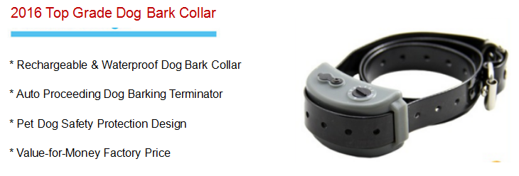 2016 Small Pet Dog Bark Stop Trainer Used Electronic Dog Training Shock Anti Bark Collar,Static Shock Control No Bark Dog Collar