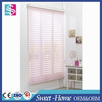 European hot sale style triple shade blinds layers shangri-la for interior decoration