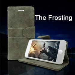Matte Style Stand Function PU Leather Wallet Case For LG Optimus l3 e400
