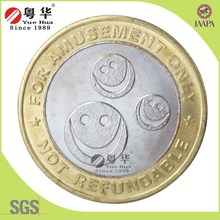 Hot selling useful toy gaming machine token