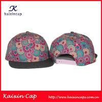 Factory Support Cheap Price Printed Hip Hop Caps Custom Snapback Hats
