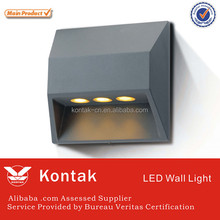 Decorative 3w led curtain wall lights with ledlink lens