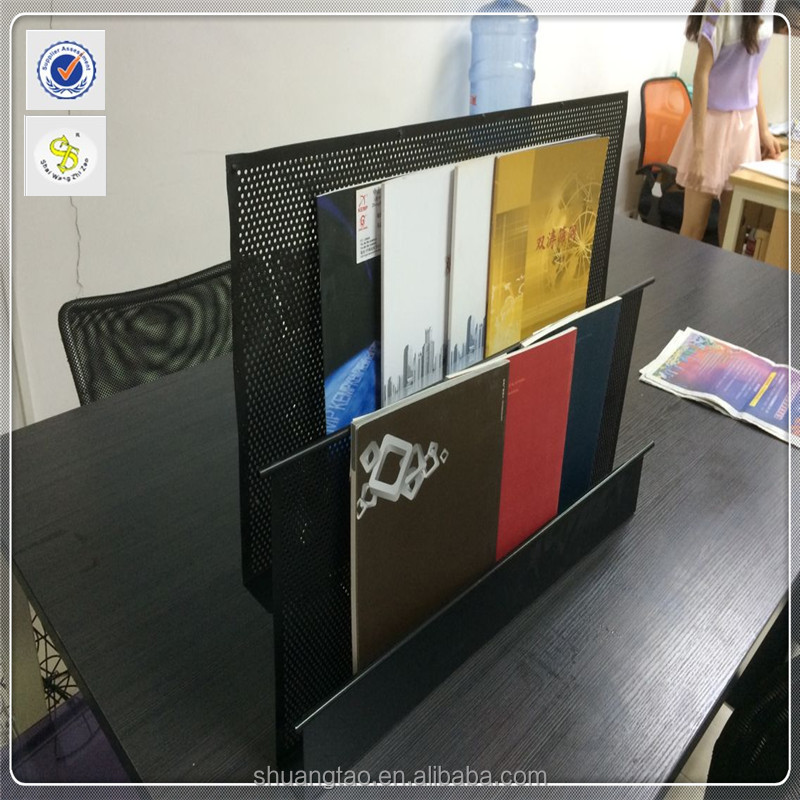 hot sale wall magazine display shelf of Guangzhou manufacturer
