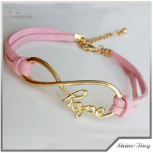 Charm Bracelet Infinity Hope Bracelet Boyfriend Jewelry Girlfriend Jewelry Friendship Gift131002-58