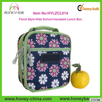 2014 New Arrival School Insulated Lunch Bag Kids Cooler Bags