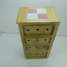 hollow clover 4 drawer decorative bedroom furniture bedside nightstand wooden cabinet