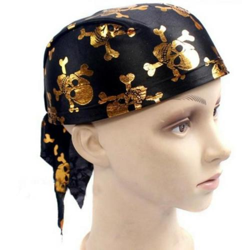 Ecoparty Halloween Pirate Captain Head Scarf Hat Dome Pirate Hat For Adult Pirate Hat