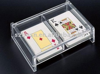 2 pairs Poker playing cards box