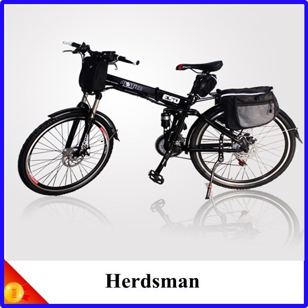 36V Folding Electric Bike, mountain Electric Bicycle 6S electric bike with Pedelec