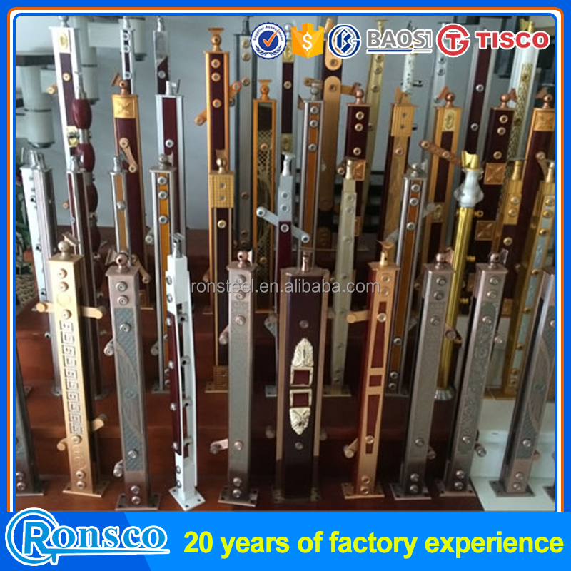 Stainless steel railing price per meter most selling product in alibaba