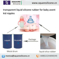 transparent liquid silicone rubber for baby avent kid nipples
