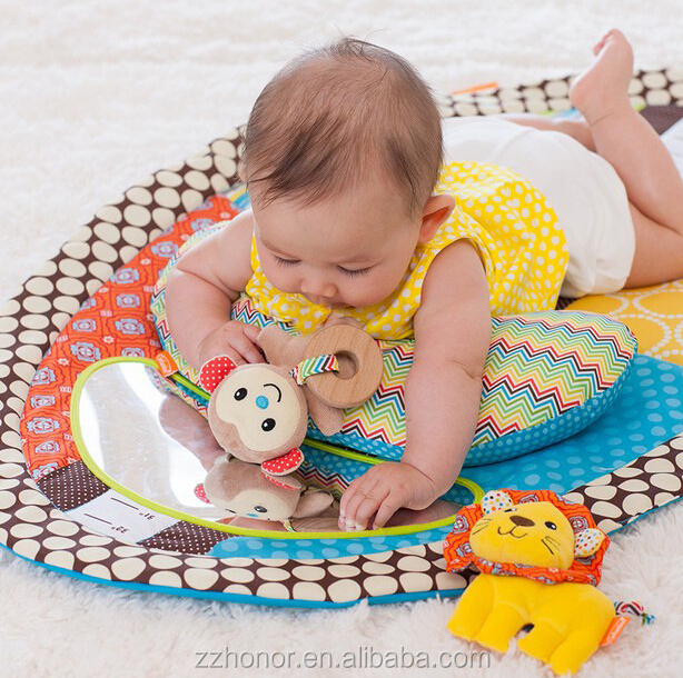 Sozzy Baby Early Education waterproof Play Mat Gym Infants Activity Play Blanket 87*56cm