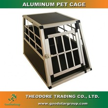 Aluminum Pet cage Transport Box Lock Dog House Kennel Carrier Portable Crate