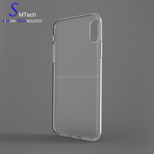 Newest design fashion For iPhone Ultra Thin TPU Transparent Clear Phone Cases Cover For iPhone 8 Case