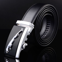 Men Belt Luxury Leather Male 2017 Fashion Luxuvry Designer Brand High Quality Waist Strap Automatic Buckle Belts for Men