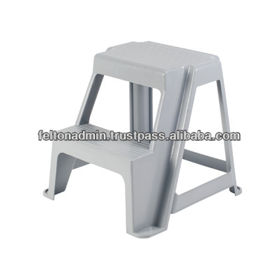 Malaysia Grey Modern Plastic 2 Step Stacking Stool