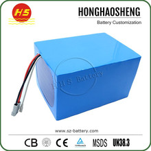 High power rechargeable 26s20p 96v lithium battery 50ah for scooter