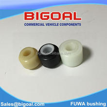 Control arm nylon bushing for Chinese FUWA truck suspension