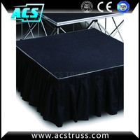 used church equipment/portable stage with riser/stage magic illusions