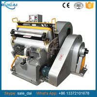 2014 New ML750 Die Cutting and Creasing Machine