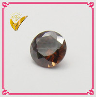 blink coffee round cz pave beads synthetic diamond gemstone, AAA quality cofe cz in stock