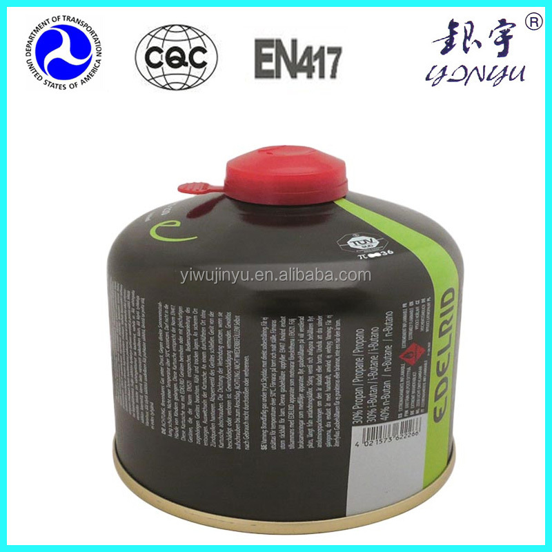 China professiona tinplate gas cylinder tinplate gas bottle