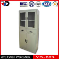 Luxury grey Surface steel Office File Cabinet in Vietnam market
