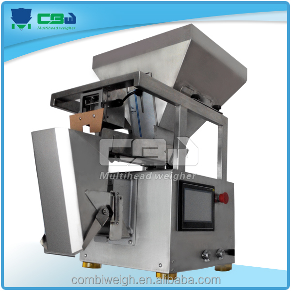 Small scale industries 1 head linear weigher weight scales for small regular shape products
